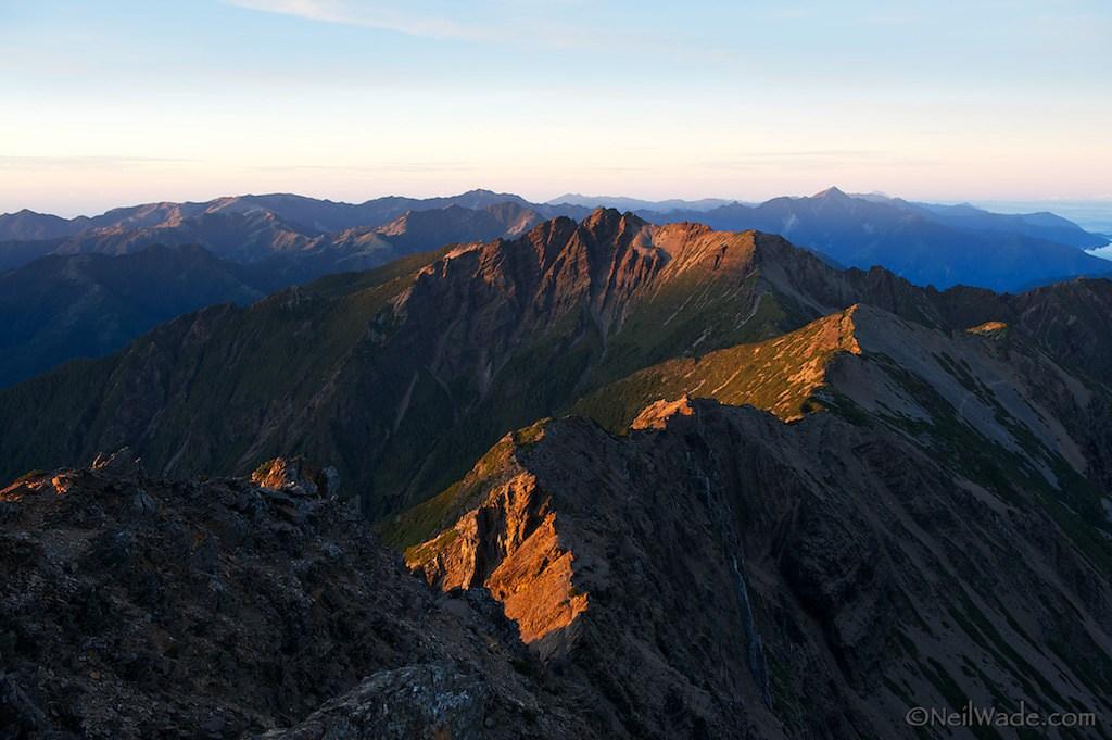 Yushan's (Jade Mountain) Southern Peaks