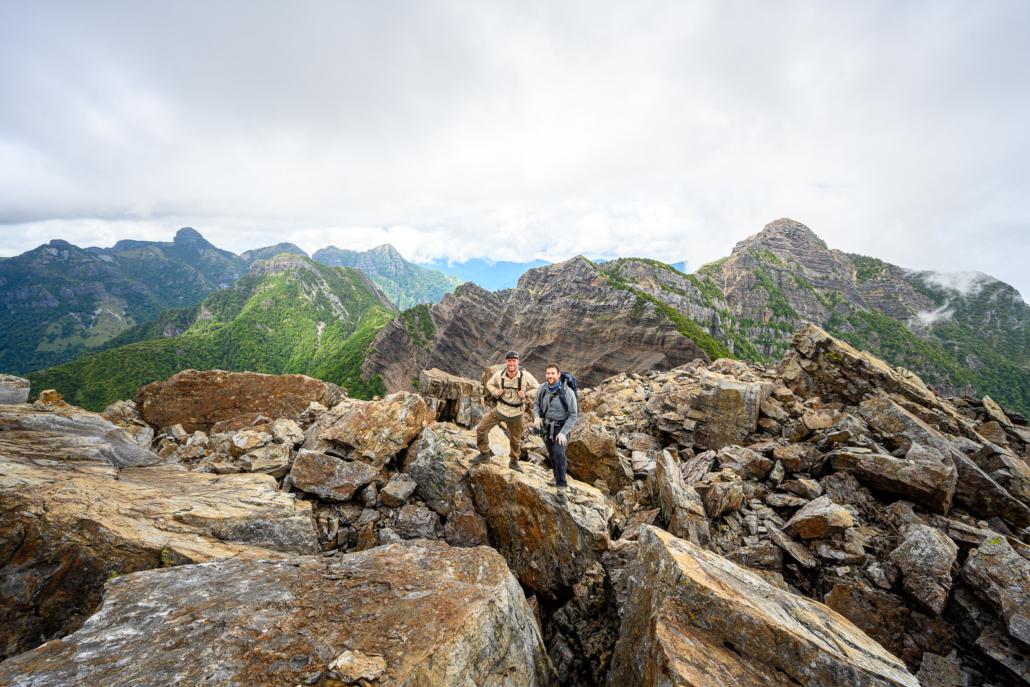 The Holy Ridge of Taiwan